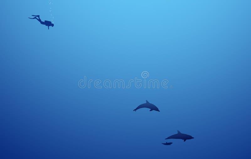 море глубин стоковое фото