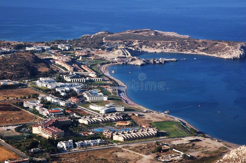 море гостиниц стоковое фото rf