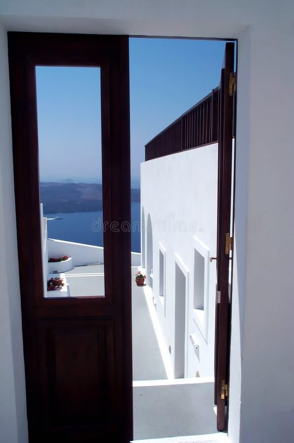 море дверей к стоковая фотография rf