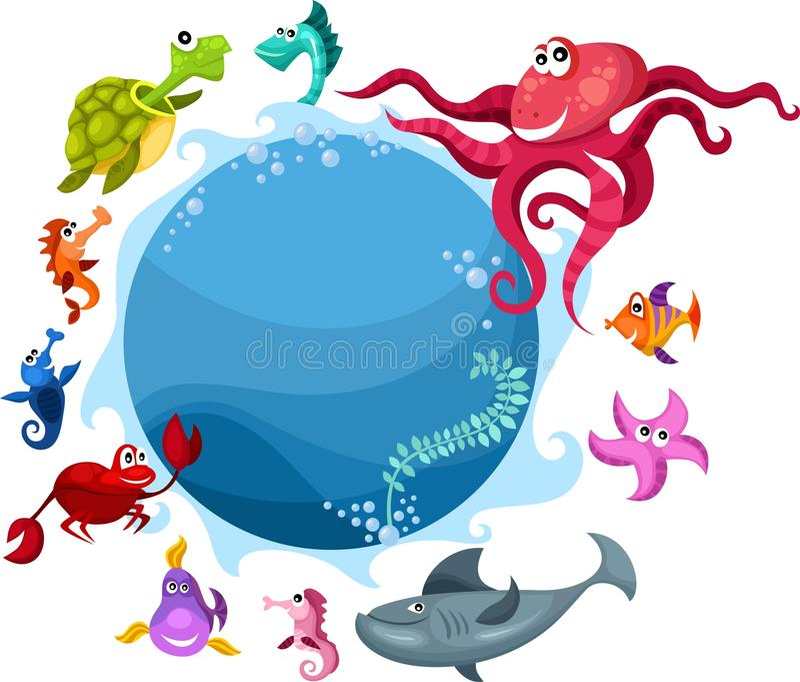 море жизни бесплатная иллюстрация