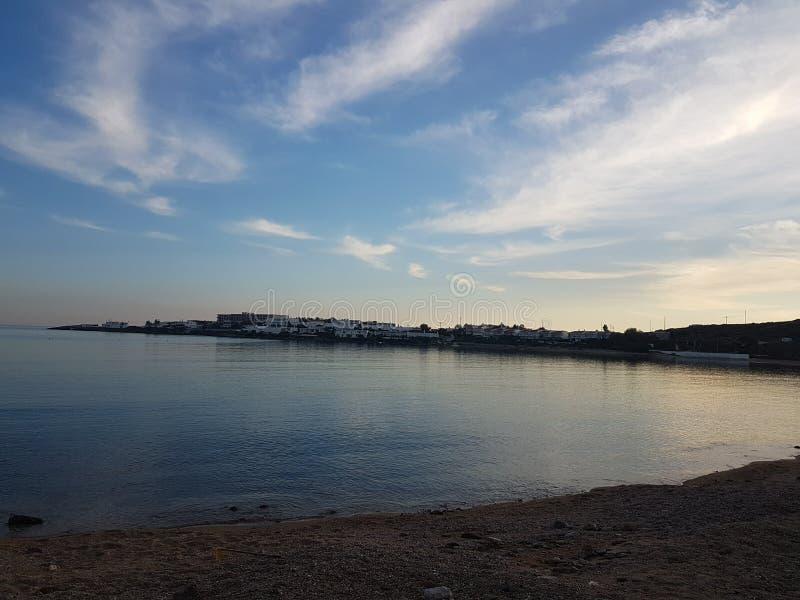 Море зимы стоковое фото rf