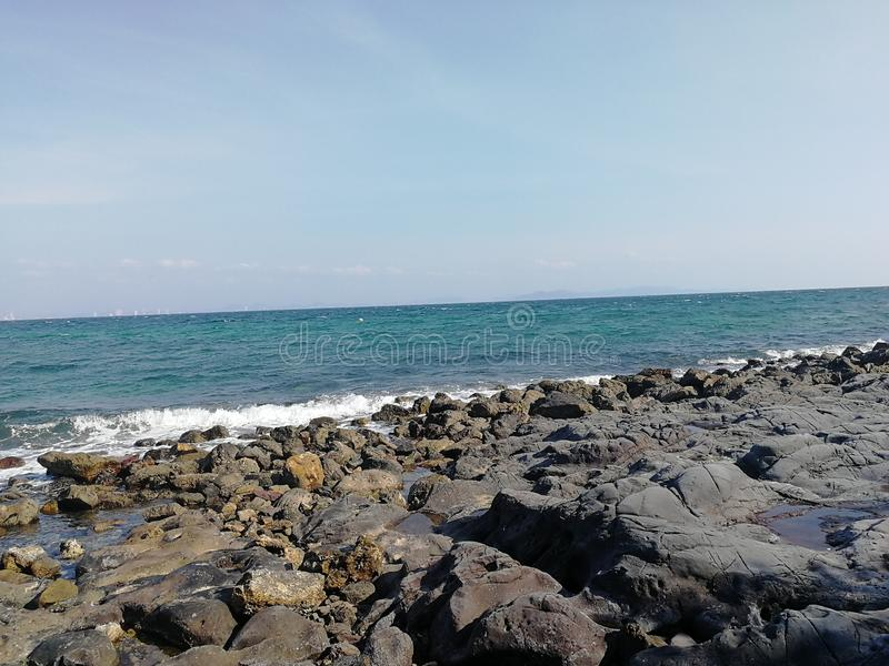 Море и оба стоковые изображения