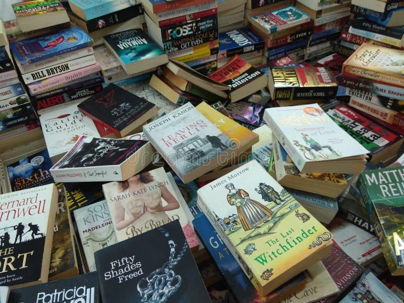 Море книг стоковые изображения