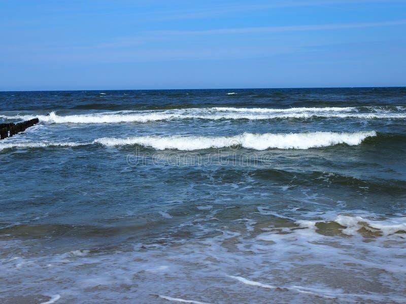 Море Красивый ландшафт стоковая фотография rf