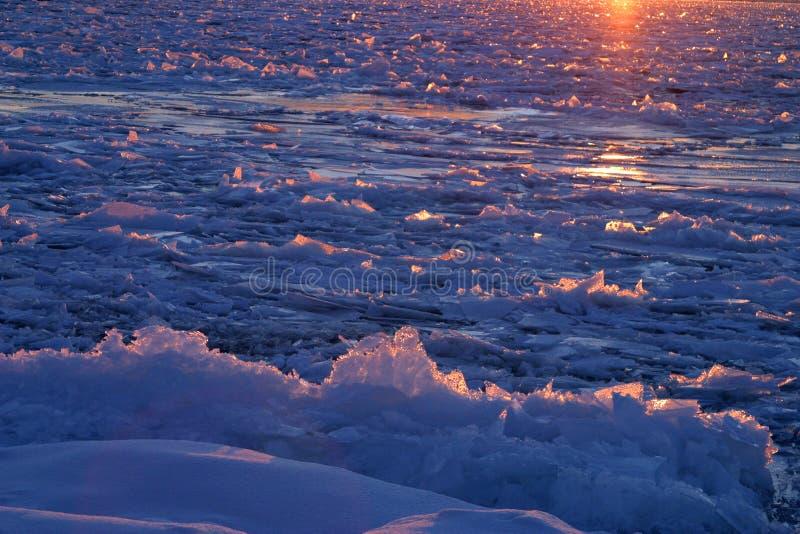 море льда Стоковые Фото