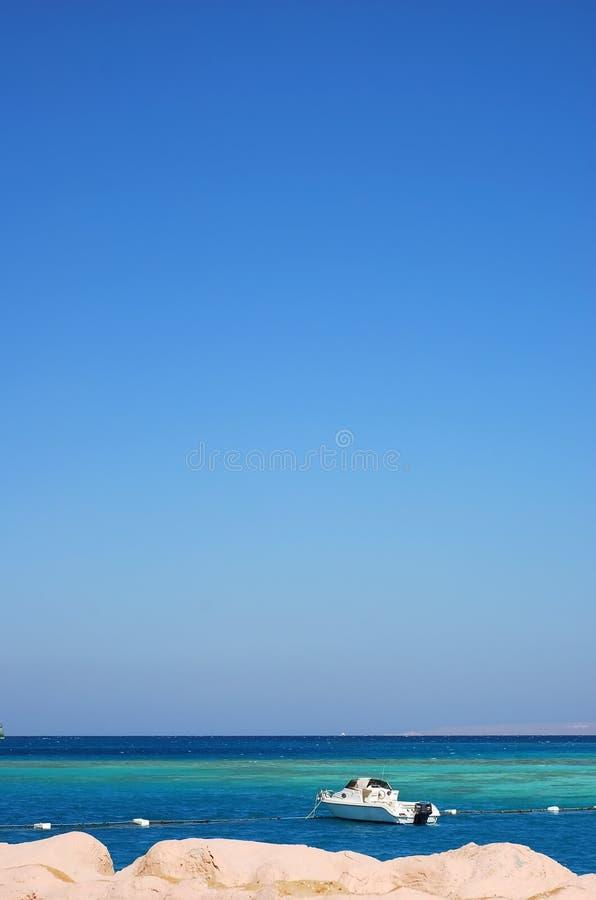 море мотора шлюпки Стоковые Фотографии RF