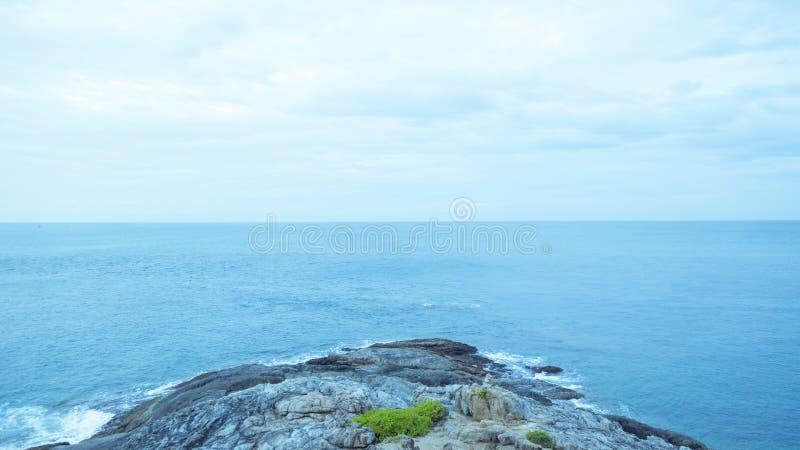 Море накидки Thep выпускного вечера стоковое фото
