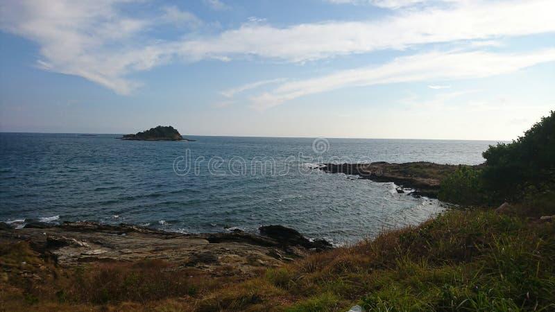 Море на samed стоковые изображения
