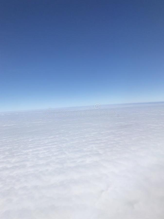 Море облака стоковые изображения