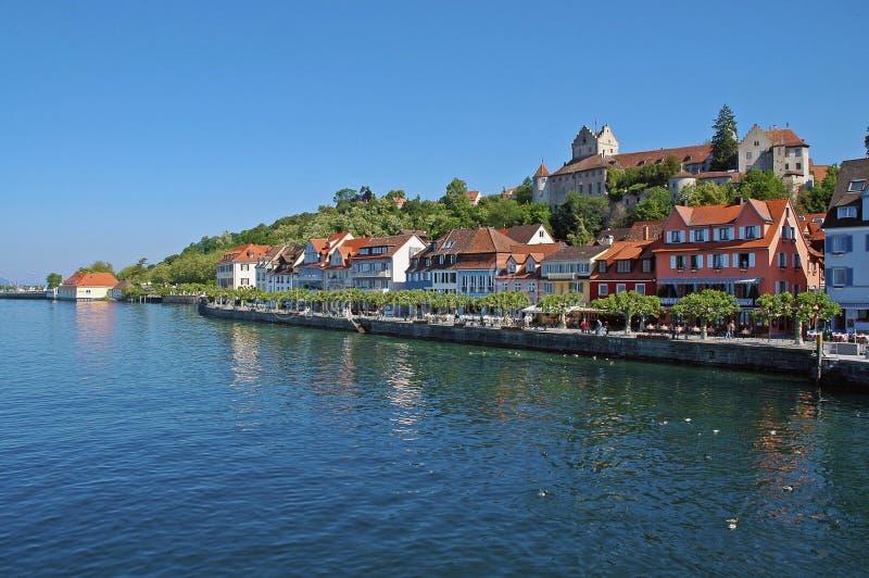 море озера Германии constance замока стоковое изображение