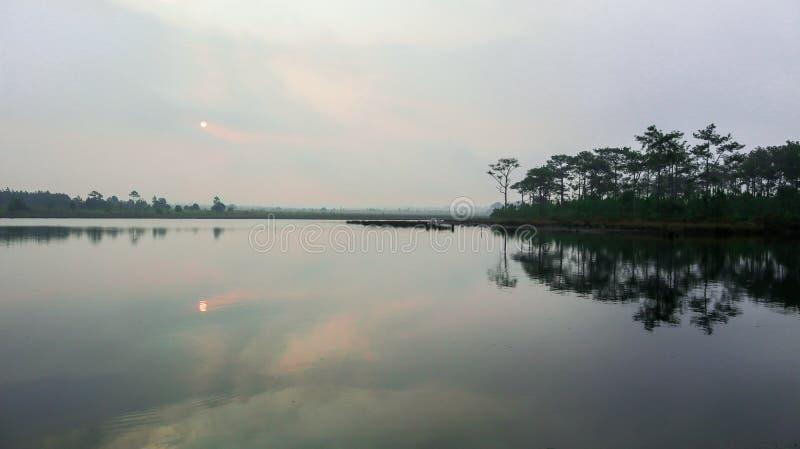 Море озера самые лучшие естественные стоковое изображение rf