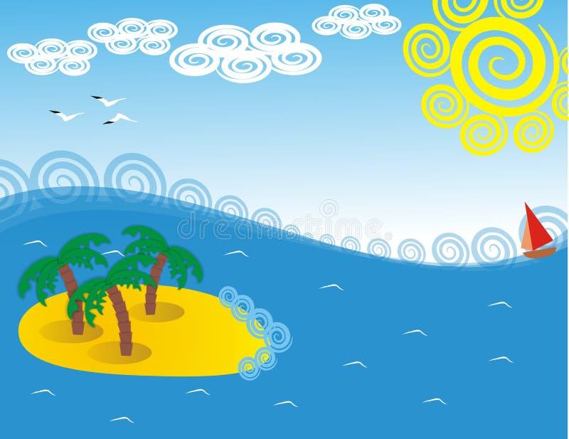 море острова стоковые фото