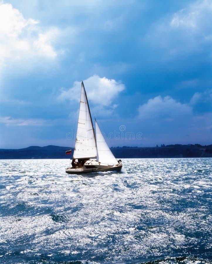 море парусника стоковое фото