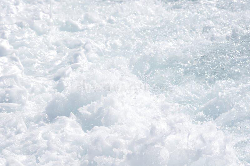 море пены стоковая фотография