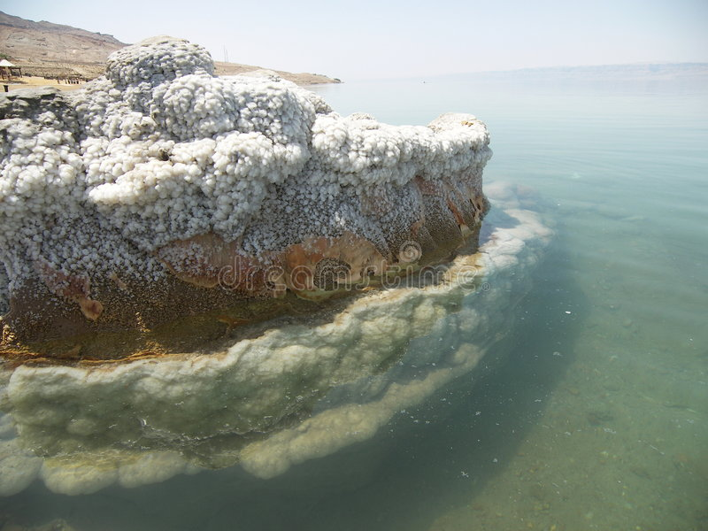 море пляжа мертвое стоковое фото