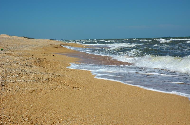 море пляжа стоковая фотография
