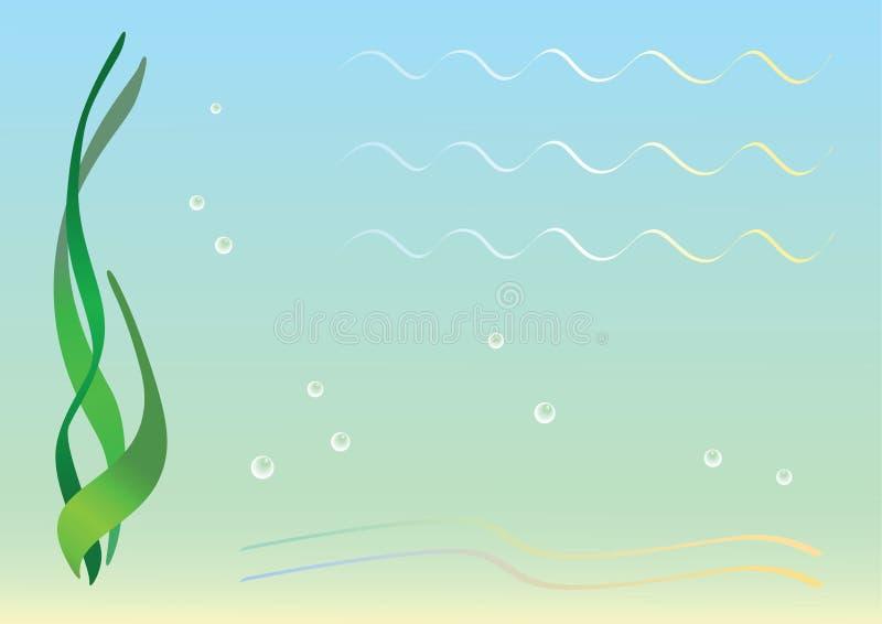 море пола иллюстрация штока