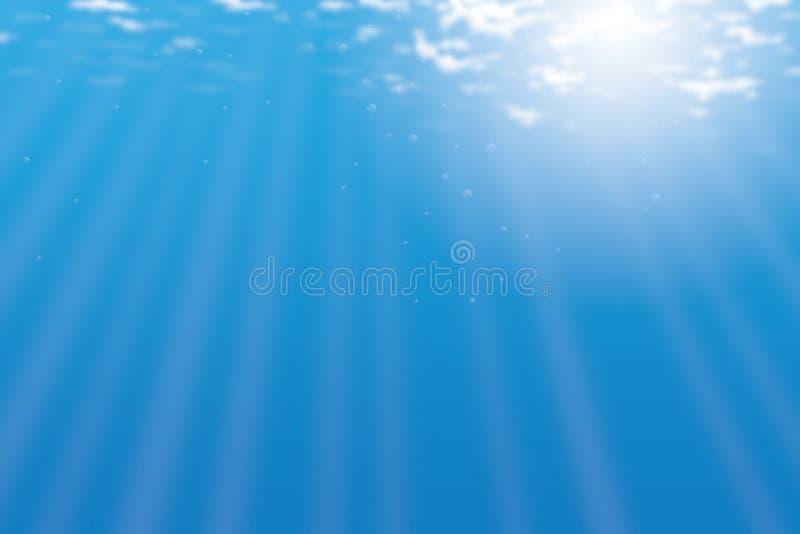 море предпосылки иллюстрация штока