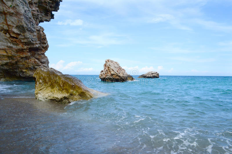 Download море пристани Footpath пляжа к Стоковое Изображение - изображение насчитывающей выплеск, соль: 41656509