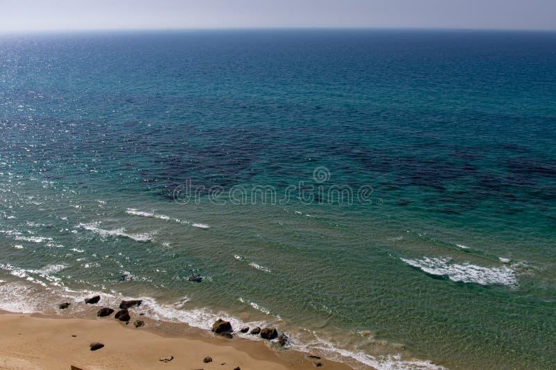 Море прозрачно стоковое изображение