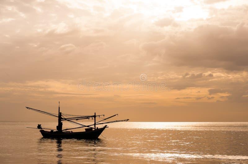 море рыболовства шлюпки тайское стоковые изображения rf
