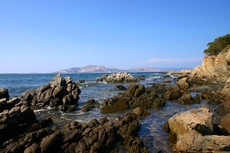 море Сардинии стоковое фото rf