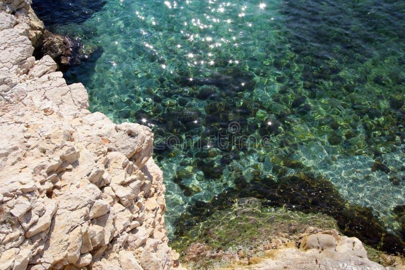 море сверкная стоковые фотографии rf