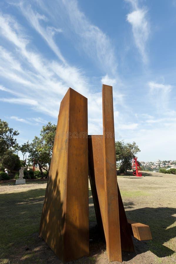 море скульптуры колонок ржавое стоковые фото