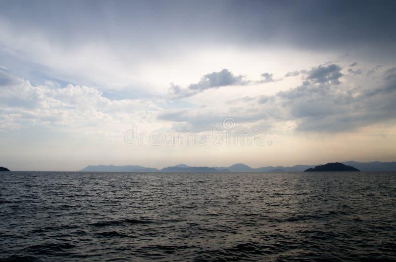 Море хмуро стоковые изображения rf
