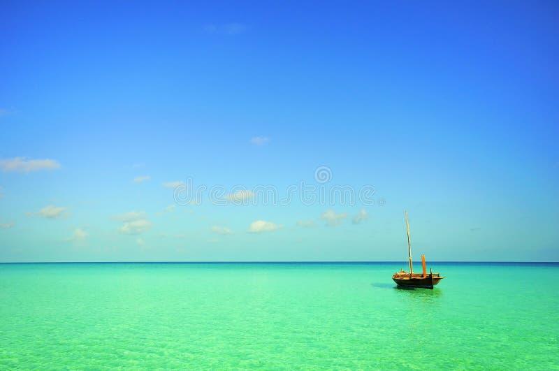 море шлюпки стоковое фото rf