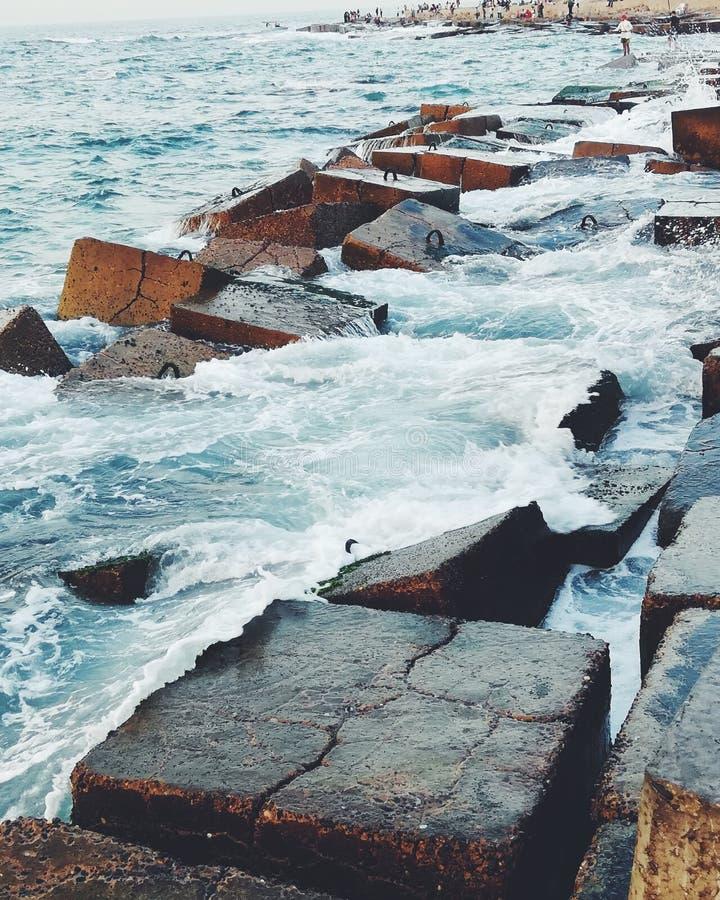 Море! стоковое изображение rf