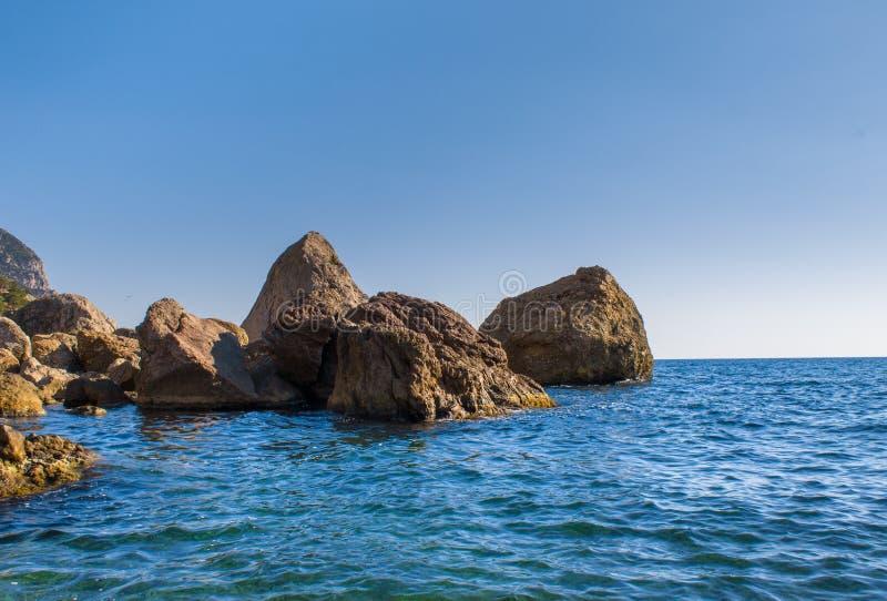 Море стоковая фотография rf