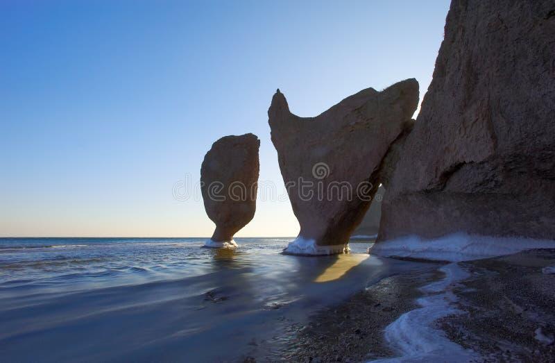 море 5 ландшафтов японии утесистое стоковая фотография rf