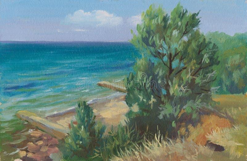 Море Blak стоковые изображения rf