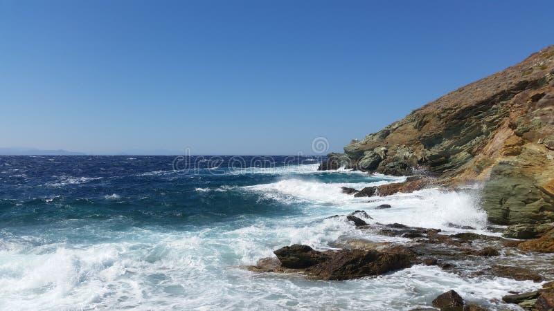 Море Grecee стоковые фото