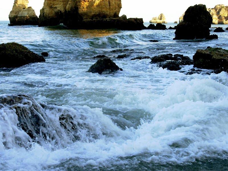 море ii lagos стоковое изображение rf