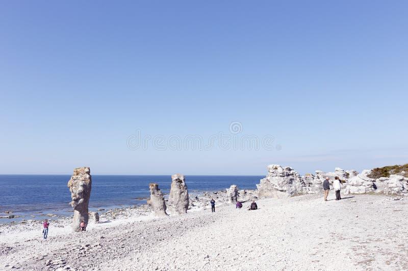 Море Langhammar штабелирует aera стоковые изображения rf