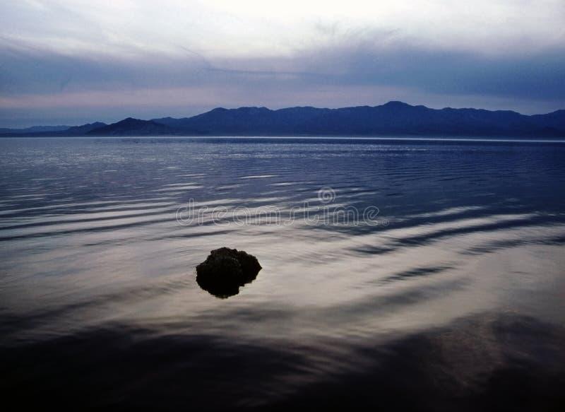 море salton стоковое изображение rf