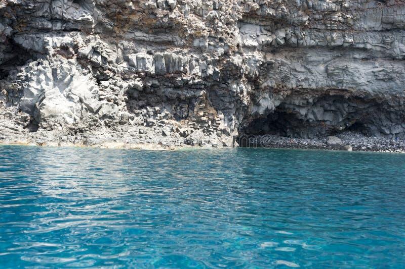 Море Ventotene стоковое изображение