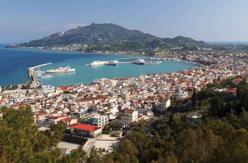 море zakynthos острова ionio Греции стоковые фото