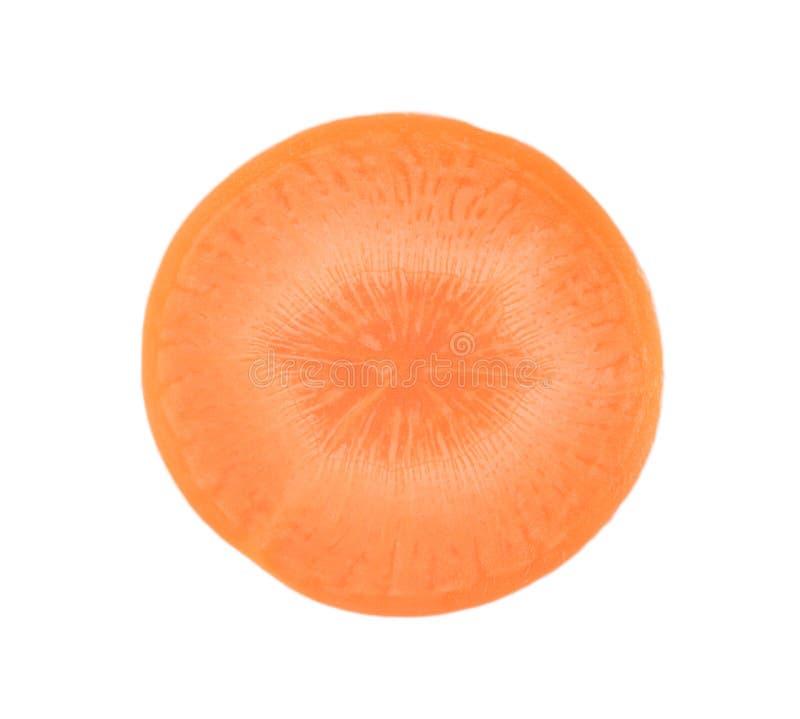 Моркови изолированные на белой предпосылке стоковая фотография