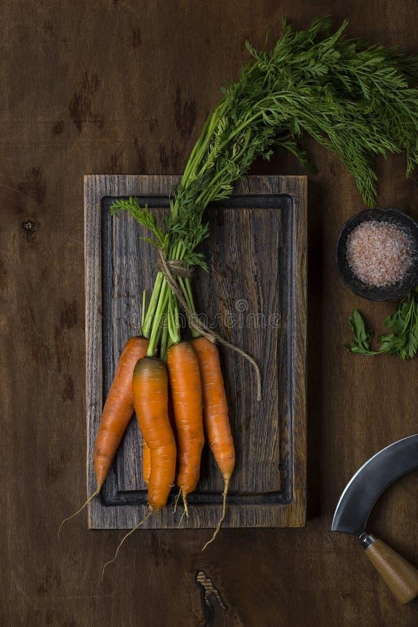 моркови пука свежие стоковые изображения rf