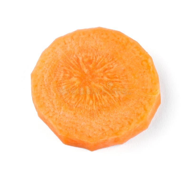 Морковь ломтика стоковая фотография