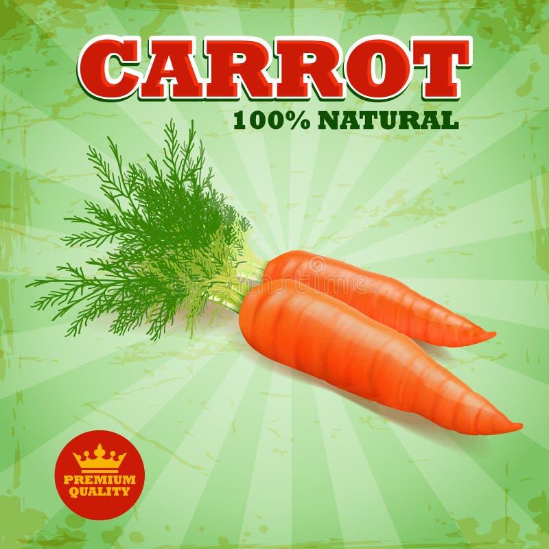 морковь бесплатная иллюстрация