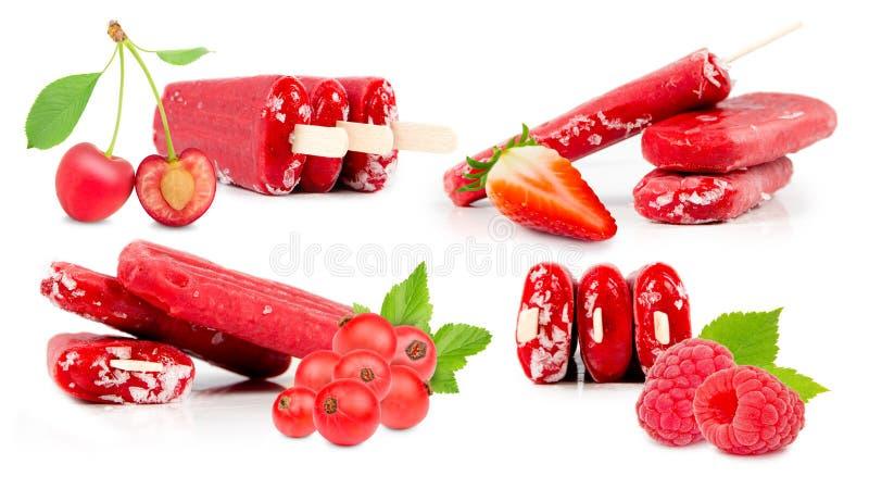 Мороженное ягоды стоковые изображения