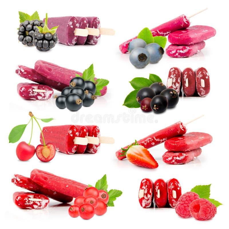 Мороженное ягоды стоковые фото