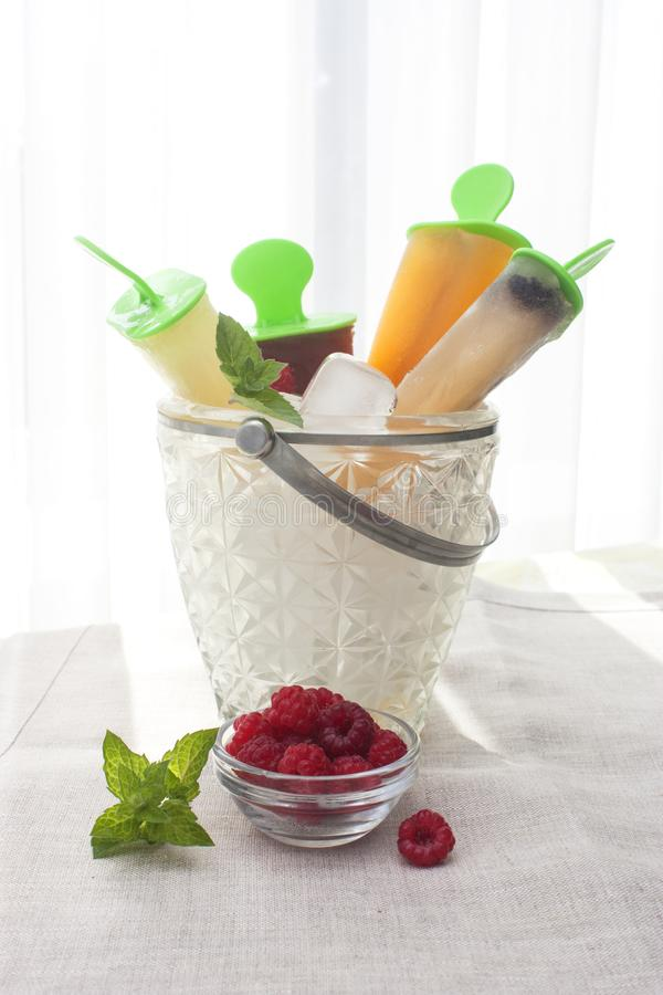 Мороженое плодоовощ стоковая фотография