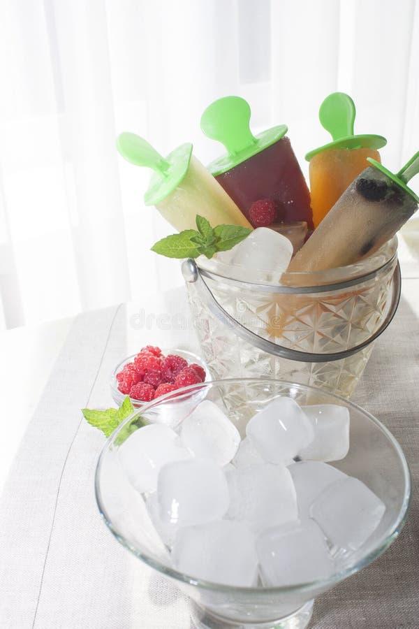 Мороженое плодоовощ стоковое изображение