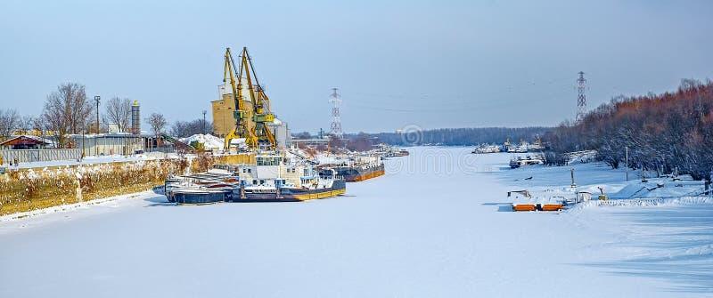 Морозный день стоковые изображения