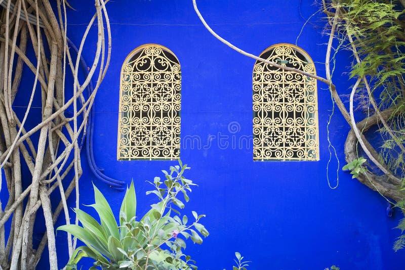морокканские окна стоковые изображения rf